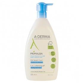 A-derma Primalba Bébé Gel Lavant Douceur 2 en 1 500ml