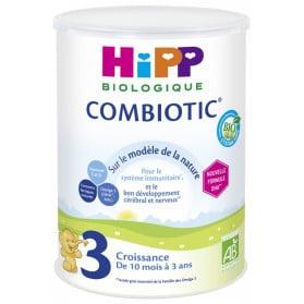HiPP Combiotic 3 Croissance de 10 Mois à 3 Ans Bio 800 g