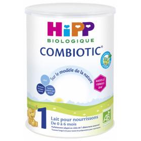 HiPP Combiotic 1 Lait pour Nourrissons de 0 à 6 Mois Bio 800 g