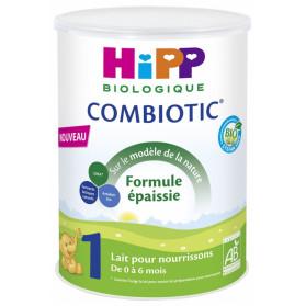 HiPP Combiotic 1 Lait pour Nourrissons Formule Épaissie de 0 à 6 Mois Bio 800 g