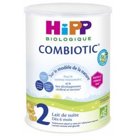 HiPP Combiotic 2 Lait de Suite dès 6 Mois Bio 800 g