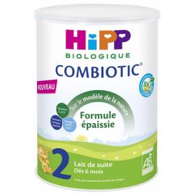 HiPP Combiotic 2 Lait de Suite Formule Épaissie dès 6 Mois Bio 800 g