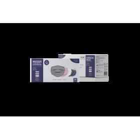 Masque Chirurgicaux Type IIR – IDCOLORS boite de 50 unités (5 sachets de 10 masques)
