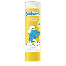 LE COMPTOIR DU BAIN Les Schtroumpfs - Stick Lèvres Parfum Vanille - 4g
