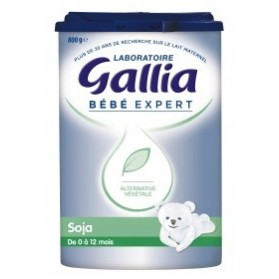 Gallia Bébé Expert Soja 800g