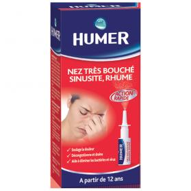 HUMER Nez très bouché, sinusite, Rhume flacon de 15ml