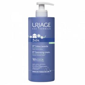 Uriage 1ère crème lavante à l'edelweiss Bio 500ml