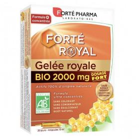 Forté Pharma Forté Royal Gelée Royale 2000mg Bio 20 Ampoules 10ml
