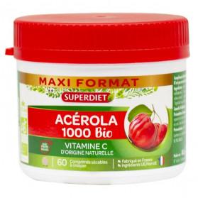 Super Diet Acérola 1000 Bio 60 Comprimés