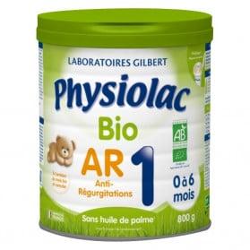 PHYSIOLAC Lait Bio AR 1er âge - 800 g