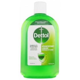 Dettol Désinfectant Liquide Surfaces et Linge 500 ml