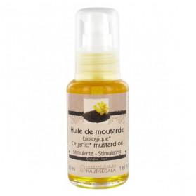 Haut-Ségala Huile de Moutarde Bio Stimulante Cheveux 50ml