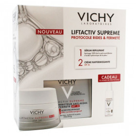 Vichy Liftactiv Supreme Crème Jour Anti-Âge SPF30 50ml + H.A. Epidermic Filler Anti-Âge 10ml Offert