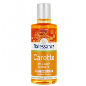 Natessance Carotte Huile 100% Pure 100ml