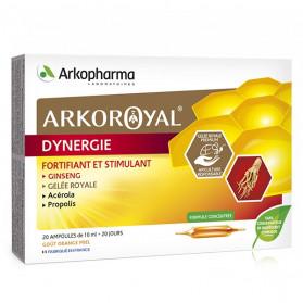 ARKOPHARMA ARKO ROYAL - Dynergie - Fortifiant & Stimulant - 20 ampoules