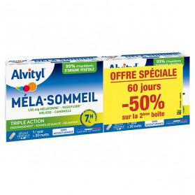 Alvityl Méla-Sommeil Lot de 2 x 30 gélules