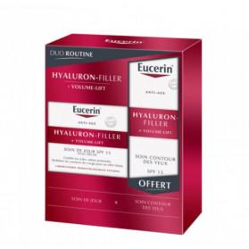 Eucerin Hyaluron-Filler + Volume Lift Duo Routine Peau Sèche & Contour des Yeux