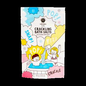 Nailmatic Kids Sels de bain crépitants bleus 60g