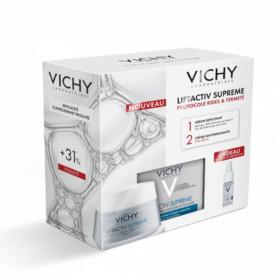 Vichy Liftactiv Supreme Protocole Rides et Fermeté Crème Anti Age Anti Rides Peaux Sèches 50ml + Liftactiv HA Filler 10ml Offert