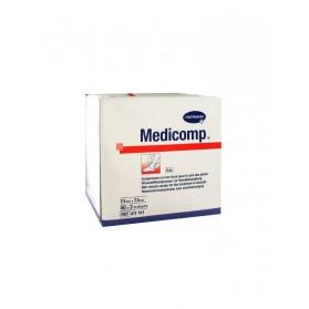 Hartmann Medicomp Compresses en Non-Tissé Stériles 7,5 x 7,5 cm 50 x 2 Pièces