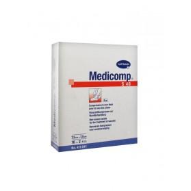 Hartmann Medicomp S 40 Compresses en Non-Tissé Stériles 7.5 x 7.5 cm 10 x 2 Pièces