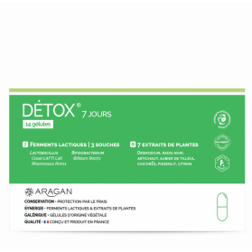 Aragan Detox 7 jours 14 gélules