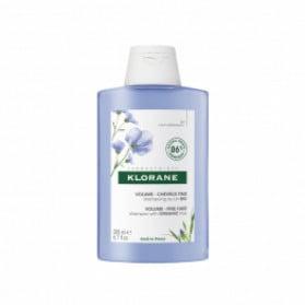 Klorane Shampooing volume au lin Bio 200ml