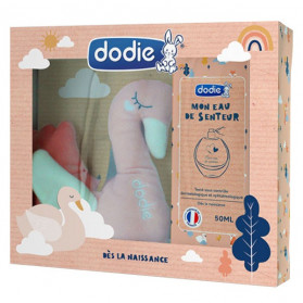 Dodie Hygiène & Soin Coffret Eau de Senteur 50ml + Peluche Cygne