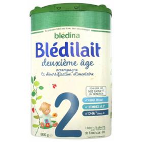BLEDILAIT 2E AGE LAIT PDR 800G