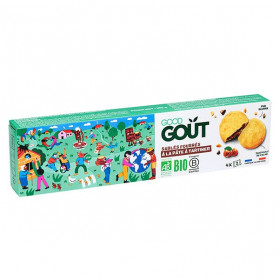 Good Goût Biscuits Sablés Fourrés à la Pâte à Tartiner +3ans Bio 100g