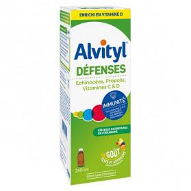 ALVITYL DÉFENSES SIROP 240 ML
