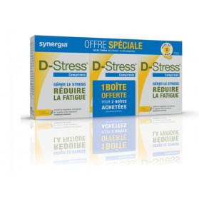 Synergia D-stress lot de 3x80 comprimés