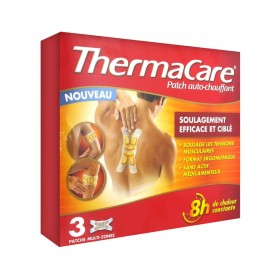 ThermaCare Patch Auto-Chauffant 8h Multi-Zones 3 Patchs