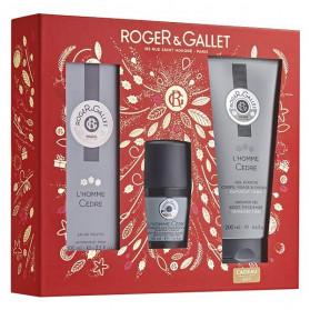 Roger & Gallet Coffret Noël Homme Cèdre