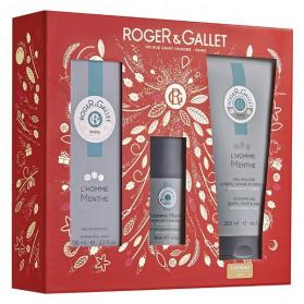 Roger & Gallet Coffret Noël Homme Menthe
