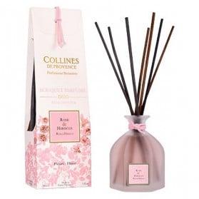 Collines de Provence Duo Parfumés Bouquet Aromatique Rose & Hibiscus 100ml