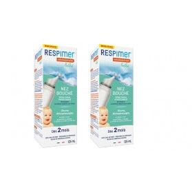 Respimer Spray Nasal Hypertonique Bébé lot 2x125ml