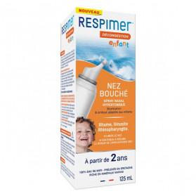 Respimer Spray Nasal Décongestion Enfant 125ml