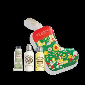 L'occitane Coffret Botte de Noël Soins Corps Amande
