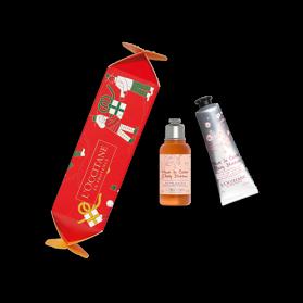 L'occitane Crackers de Noël Soins Corps Fleurs de Cerisier
