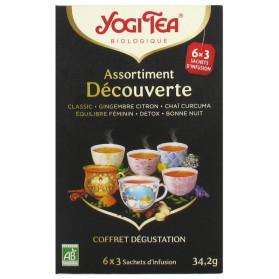 Yogi Tea Assortiment Découverte Bio 6 x 3 Sachets