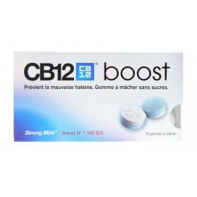 CB12 boost plaquette de 10 gommes à mâcher
