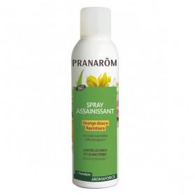 Pranarom Aromaforce Spray Assainissant Ravintsara Orange Douce Bio 400ml