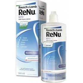 Renu MultiPlus MPS, Solution Multifonctions Yeux Sensibles 360 ml