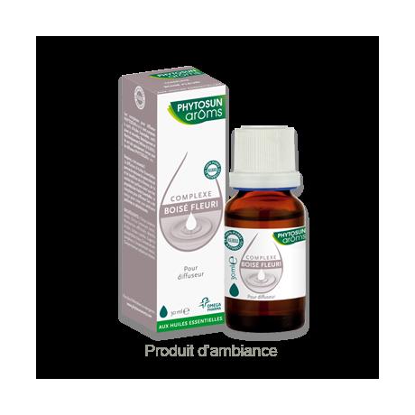Phytosun Complexe Boisé Fleuri D'Huiles Essentielles Pour Diffuseur Flacon De 30 ml