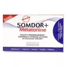 Granions Somdor+ Mélatonine boite de 15 comprimés