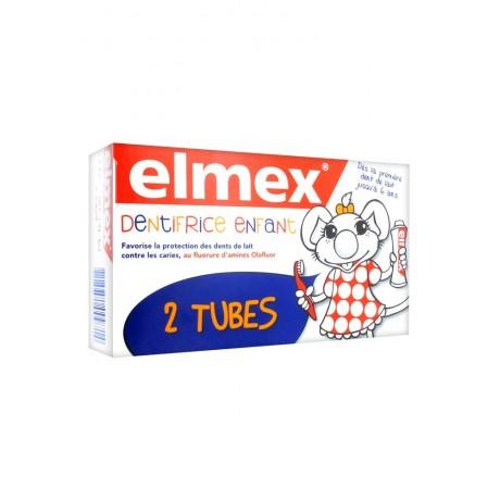 Elmex Dentifrice Enfant Lot de 2 x 50 ml