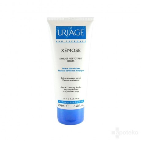 Uriage Xémose Syndet nettoyant doux 200ml