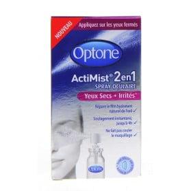OPTONE ACTIMIST 2en1 SPRAY OCULAIRE Yeux Secs + Irrités 10ml