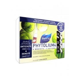 Phyto Phytolium 4 Traitement Antichute Homme 12 Fioles + 6 gratuites